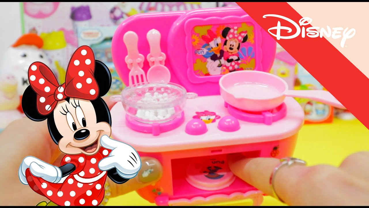 Mickey Mouse Kitchen Appliances Disney Minnie Mouse Mini Appliance Kitchen Set Youtube