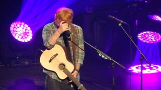 "ED SHEERAN ""RUNAWAY/EVERYBODY"" (BSB) @ THE CHELSEA THEATRE LAS VEGAS"