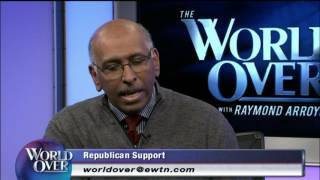 World Over - 2016-10-13– Latest on the Presidential Race, Michael Steele Raymond Arroyo