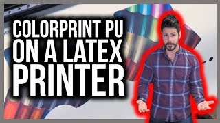 Installing ColorPrint PU Profile on HP Latex Printer