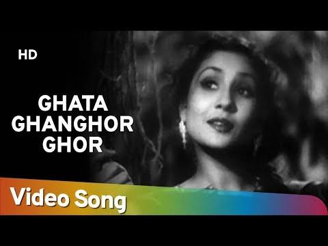 Ghata Ghonghor | Tansen (1943) |  K. L. Saigal | Khursheed Bano | Classic Hindi Song