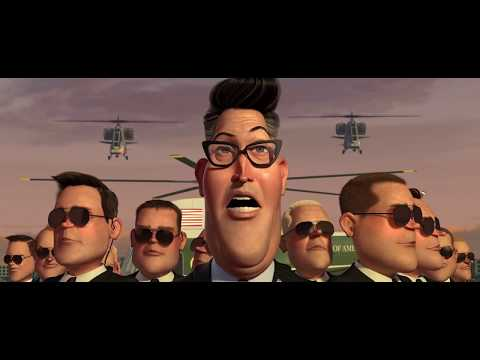 First Contact. [Best Scene]-Monsters Vs Aliens. (Full-HD)