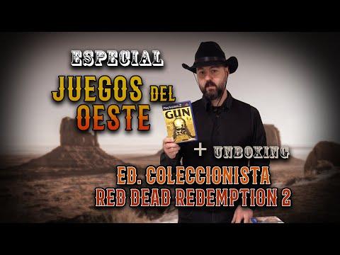 """especial-juegos-del-oeste-+-unboxing-edición-de-coleccionista-del-""""red-dead-redemption-2"""""""