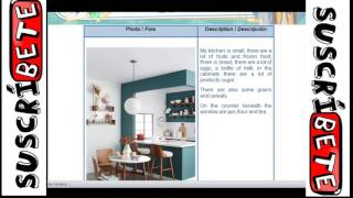 Nivel 2: Learning activity 1  Evidence: Describing my kitchen