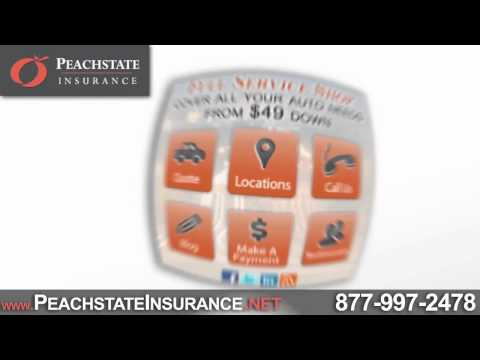 Need Auto or Renters Insurance? | Peachstate Insurance | Georgia