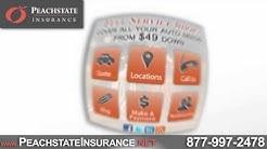 Need Auto or Renters Insurance? | Peachstate Insurance | Georgia