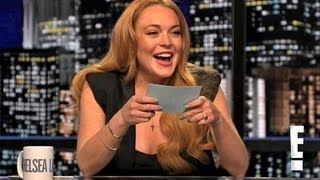 Lindsay Lohan Hosting Chelsea Lately