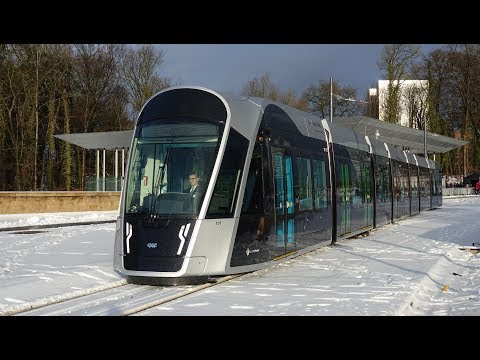 Luxembourg's new tram thumbnail