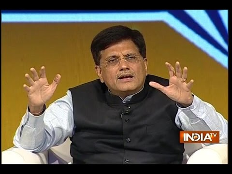 IndiaTV Samvaad: Union Minister Piyush Goyal at India TV Conclave on 2-yrs of Modi Govt