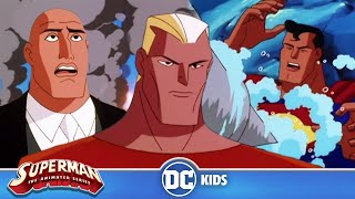 Superman: The Animated Series | Aquaman VS Luthor | DC Kids