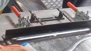 Роботизированная сварка под флюсом. Сварочный робот Panasonic(Сварка под флюсом с использованием сварочного робота Panasonic., 2015-03-12T14:31:02.000Z)