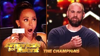 Jon Dorenbos: This NFL Player Turned Magician WOWS America! | America's Got Talent: Champions