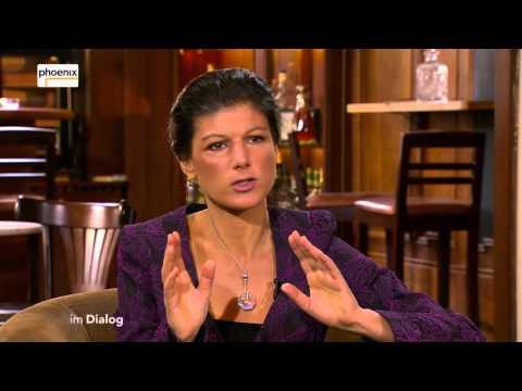 Im Dialog: Michael Hirz im Gespräch mit Sahra Wagenknecht am 15.04.16