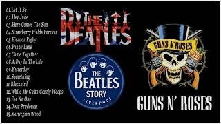 Baixar The Beatles, Guns N Roses Greatest Hits Full Album Update 2019 - Best Classic Rock Songs Collection
