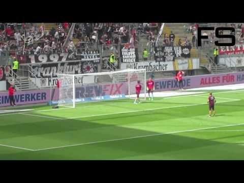 Eintracht Frankfurt Pre-Match Goalkeeper Warm-Up