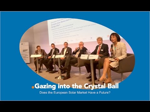 Gazing into the Crystal Ball: Does the European Solar Market Have a Future?