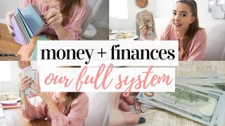 HOW WE MANAGE OUR MONEY | CASH ENVELOPE SYSTEM, FAMILY BUDGETING