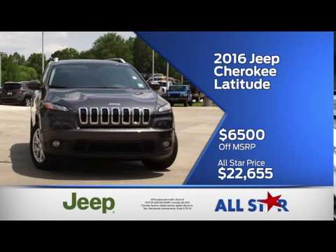 All Star Dodge Chrysler Jeep Ram - May 2016 Commercial - Memorial Day Sales Event