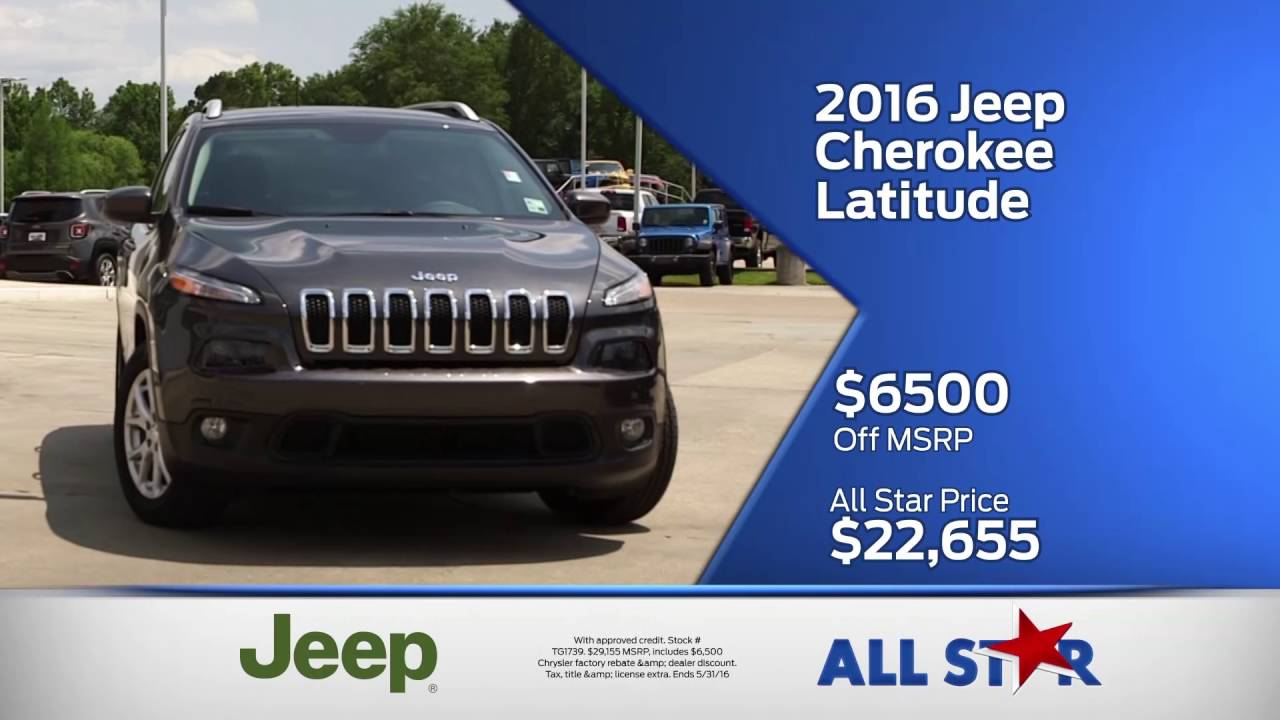 All Star Dodge Denham Springs >> All Star Dodge Chrysler Jeep Ram May 2016 Commercial Memorial