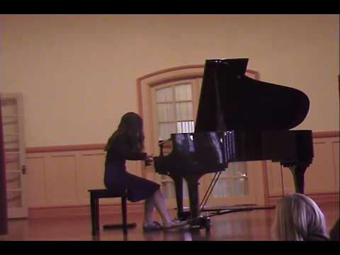 Jemma performing Star Gazer by Melody Bober