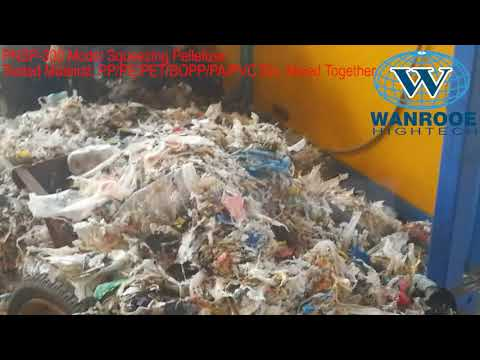 China Top Quality Machine For RDF, Garbage Recycling Machine, Plastic Pelletizer