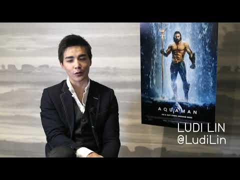 Ludi Lin - Aquaman Movie Interviw