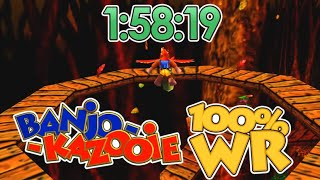 Banjo-Kazooie 100% Speedrun in 1:58:19