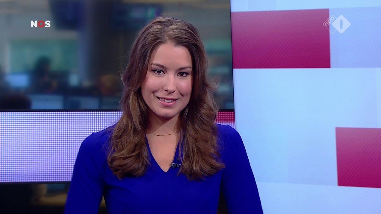 Amber Brantsen Nos Journaal Presentatrice 14 Augustus 2017 13 00