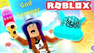 100 REBIRTHS AND A DRAGON PET! | Roblox Ice Cream Simulator