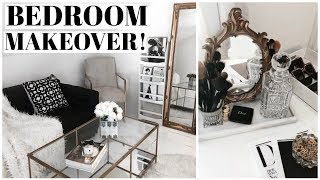 RE-DECORATE WITH ME! Bedroom Makeover thumbnail