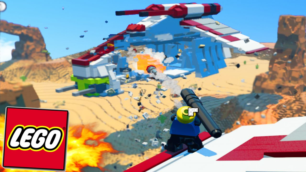 Lego Worlds Build Your Own World