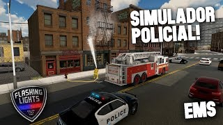 SIMULADOR POLICÍA, BOMBERO, MÉDICO! - Flashing Lights - Gameplay Español