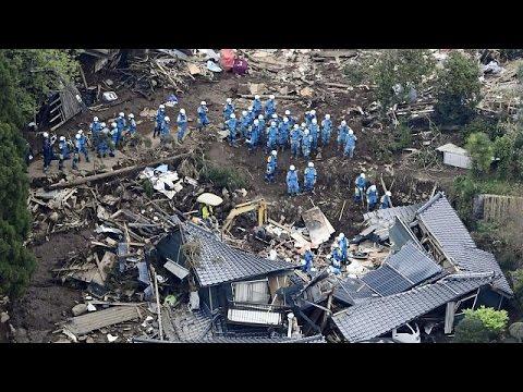 Japonya'da Kurtarma çalışmaları Devam Ediyor