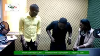 JJC SKILLZ, AJEBO & MOYO SCATTERING DANCE INSIDE NAIJA FM STUDIO