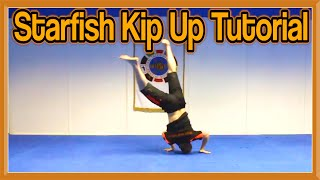 How to Starfish Kip Up | GNT Tutorial