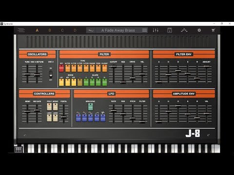 SYNTRONIK by IK Multimedia The J-8 Instrument The BIG Soundtest Demo