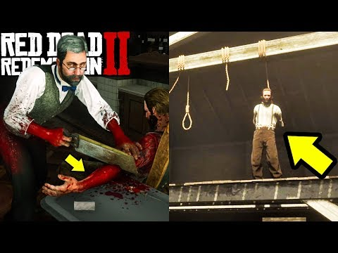 Can You Save The Armless Man From Being HANGED In Red Dead Redemption 2? thumbnail