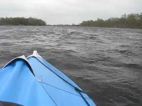 Neris-3 kayak on Desna river, April 2012