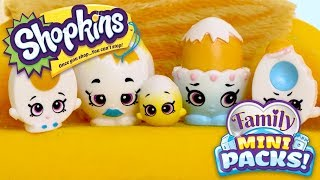 SHOPKINS Family Mini Packs S11 | Easter Freakout! With The Eggertons | Webisode