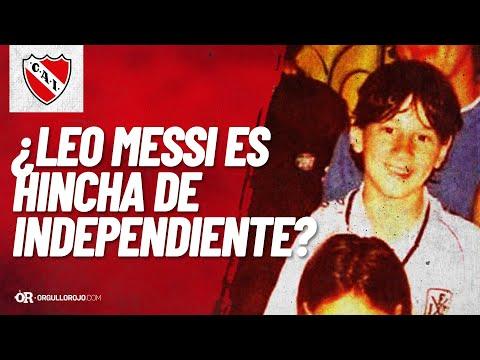 Messi Responde Porque Usaba La Camiseta De Independiente De Chico - OrgulloRojo.com