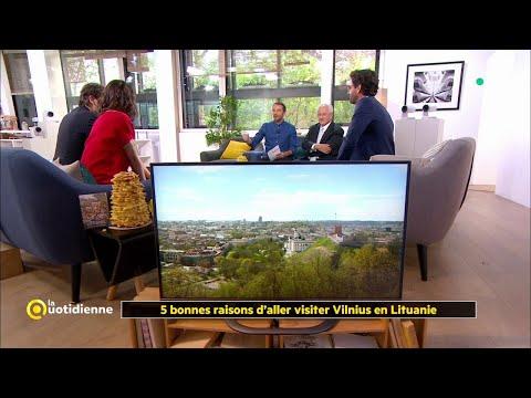 Les 5 Bonnes Raisons D'aller Visiter Vilnius En Lituanie