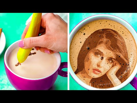 15 UNUSUAL COFFEE HACKS YOU'VE NEVER SEEN BEFORE || Best Coffee Recipes You'll Love!