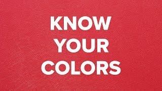 Know Your Colors: Kitchen Color Codes