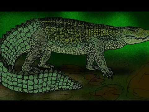 Tribute to Prehistoric Crocodiles