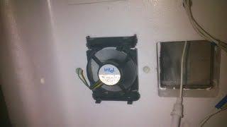 Мінус встановлення вентилятора в інкубатор БІ-2
