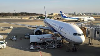 ANA001 Washington(IAD) to Narita(NRT)Business Class on Feb 06th 2016
