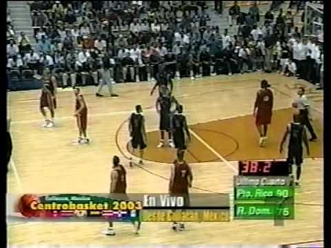 Puerto Rico vs Dominicana ( CentroBasket 2003 )