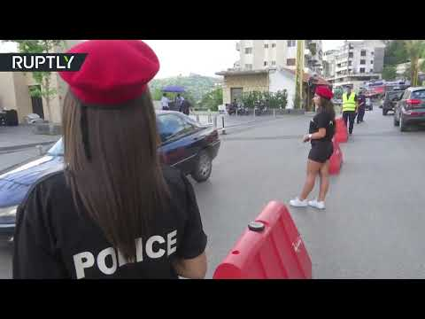 Hot in the city: Lebanese female police officers wear shorts as new uniform