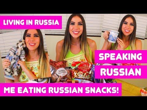 AMERICAN TRIES RUSSIAN SNACKS...