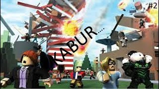 Blurred... There are natural disasters | ROBLOX NATURAL DISASTER SURVIVAL INDONESIA